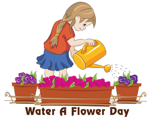Water a Flower Day