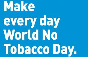 Make every day World No Tobacco Day
