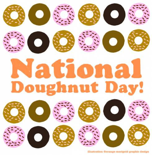 National National Doughnut Day!