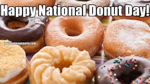 Happy National Donut Day!