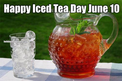 Happy Iced Tea Day June 10