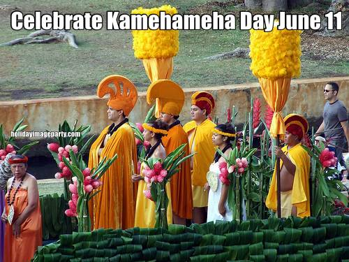 Celebrate Kamehameha Day June 11