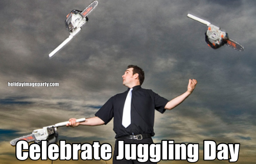 Celebrate Juggling Day