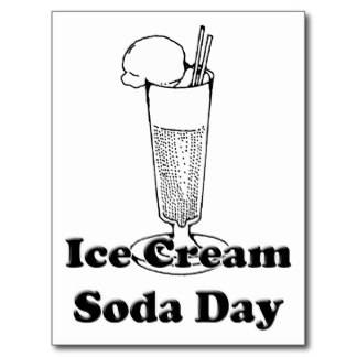 Ice Cream Soda Day