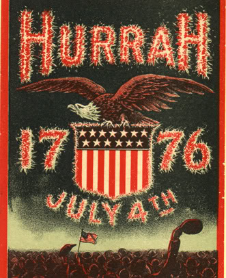 Hurrah 1776 July 4th