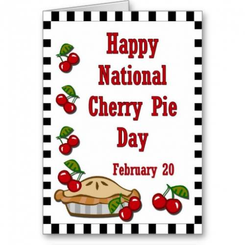 Cherry Pie Day