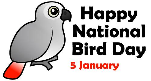 Happy National Bird Day 5 January