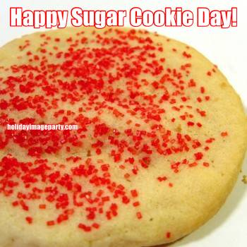 Happy Sugar Cookie Day!