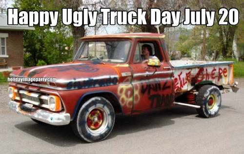 Happy Ugly Truck Day July 20