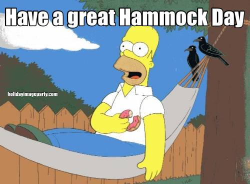 Have a great Hammock Day