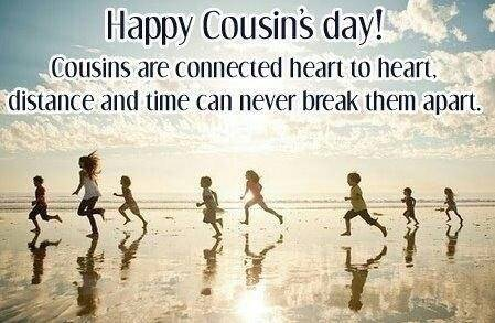 Happy Cousins Day!