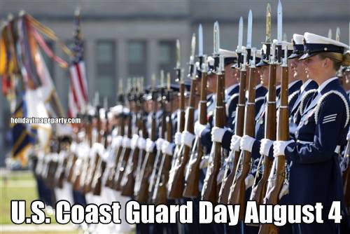 U.S. Coast Guard Day August 4