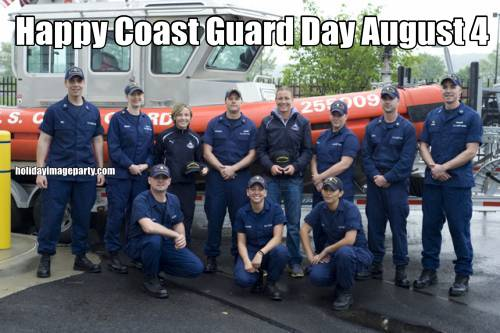 Happy Coast Guard Day August 4