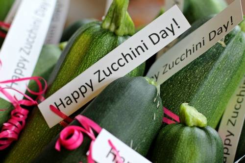 Happy Zucchini Day!