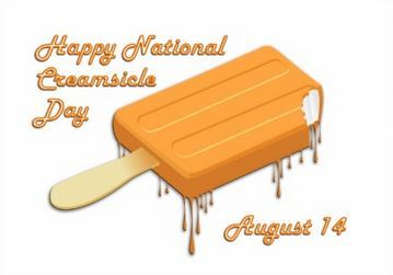 Happy National Creamsicle Day August 14
