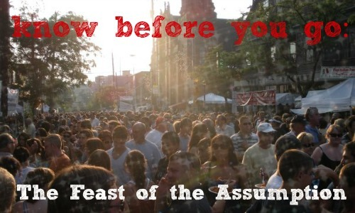 Feast of the assumptions