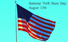 National Thrift Store Day August 17th