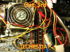 Oct. 3rd TECHIES DAY
