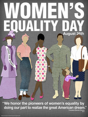 Women's Equality Day August 26th