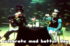celebrate mad hatter day