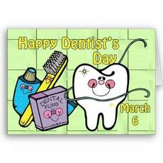 Happy Dentist's Day March 6
