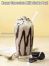 Happy Chocolate Milk Shake Day!