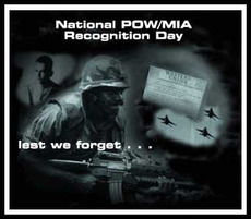 National POW MIA Recognition Day  lest we forget