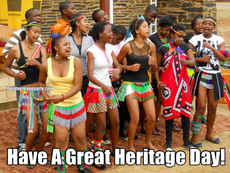 Have A Great Heritage Day!