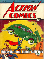 Happy National Comic Book Day