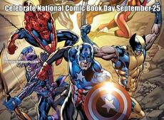 Celebrate National Comic Book Day September 25