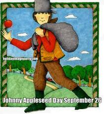 Johnny Appleseed Day September 26