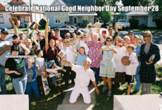 Celebrate National Good Neighbor Day September 28
