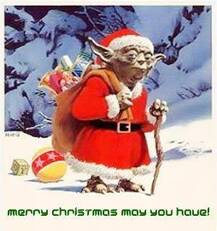 Merry Christmas may you have!