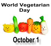 World Vegetarian Day October 1