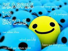 Reasons to smile