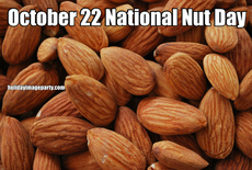 October 22 National Nut Day