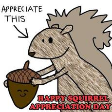 Happy Squirrel Appreciation Day
