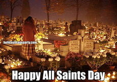 Happy All Saints Day