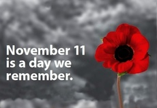 November 11 is a day we remember