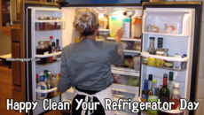 Happy Clean Your Refrigerator Day