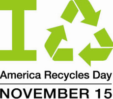 America Recycles Day November 15
