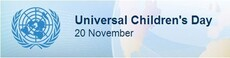 Universal Children's Day November 20