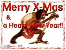 Merry X-Mas and a Heavy New Year!!