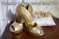 December 4 Wear Brown Shoes Day