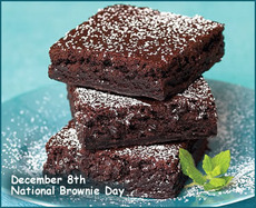 December 8th National Brownie Day