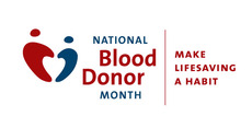 National Blood Donor Month