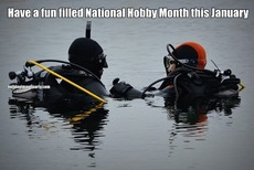 Have a fun filled National Hobby Month this January