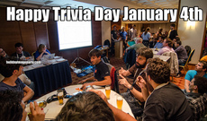 Happy Trivia Day January 4th