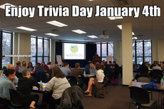 Enjoy Trivia Day January 4th