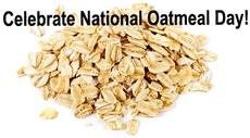 Celebrate National Oatmeal Month